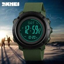 SKMEI Outdoor Sports Watch High Pressure Counter Stopwatch Electronic relogio Climbing Hiking TOP Brand Men Watches