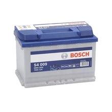 Bosch S4009 Batería de coche -12 V 74Ah 680A (EN) - Positivo a la Izquierda - Medidas: 27,8 X 17,5 X 19