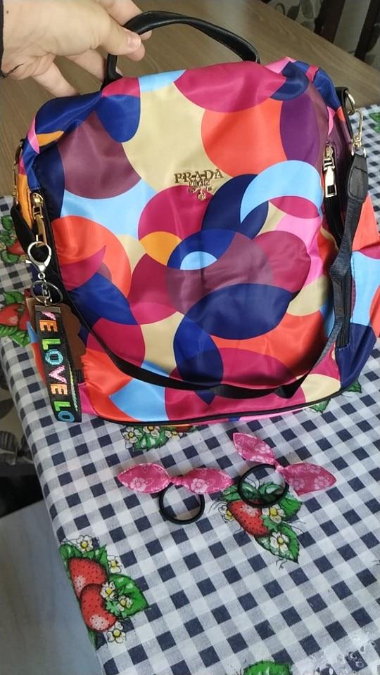 Sac à Dos Anti Pickpocket Multicolore