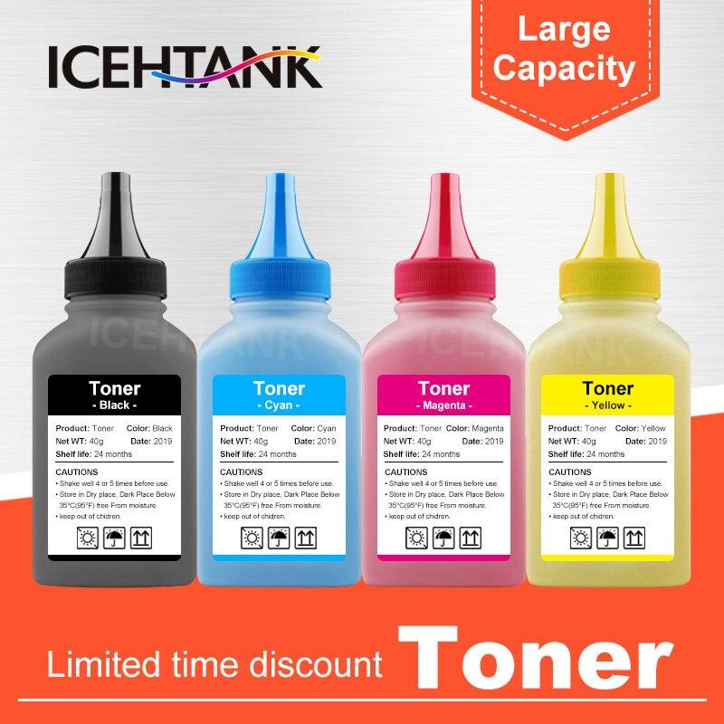 ICEHTANK 4 カラートナー粉末 106R02759 106R02756 ゼロックスフェイザー 6020 6022 ワークセンター 6025 6027 レーザープリンタ 160 グラム