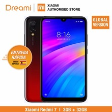 Global Versie Xiaomi Redmi 7 32GB ROM 3GB RAM (Gloednieuw en Verzegelde Doos) RODE KLEUR