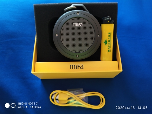 MIFA F10 Outdoor Wireless Bluetooth 4.0 Stereo Portable Speaker Built in mic Shock Resistance IPX6 Waterproof Speaker with Bass|waterproof speaker|speakers with bassportable speaker - AliExpress