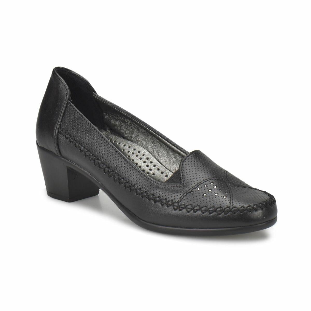 FLO 81.156595.Z Black Women Ökçeli Shoes Polaris