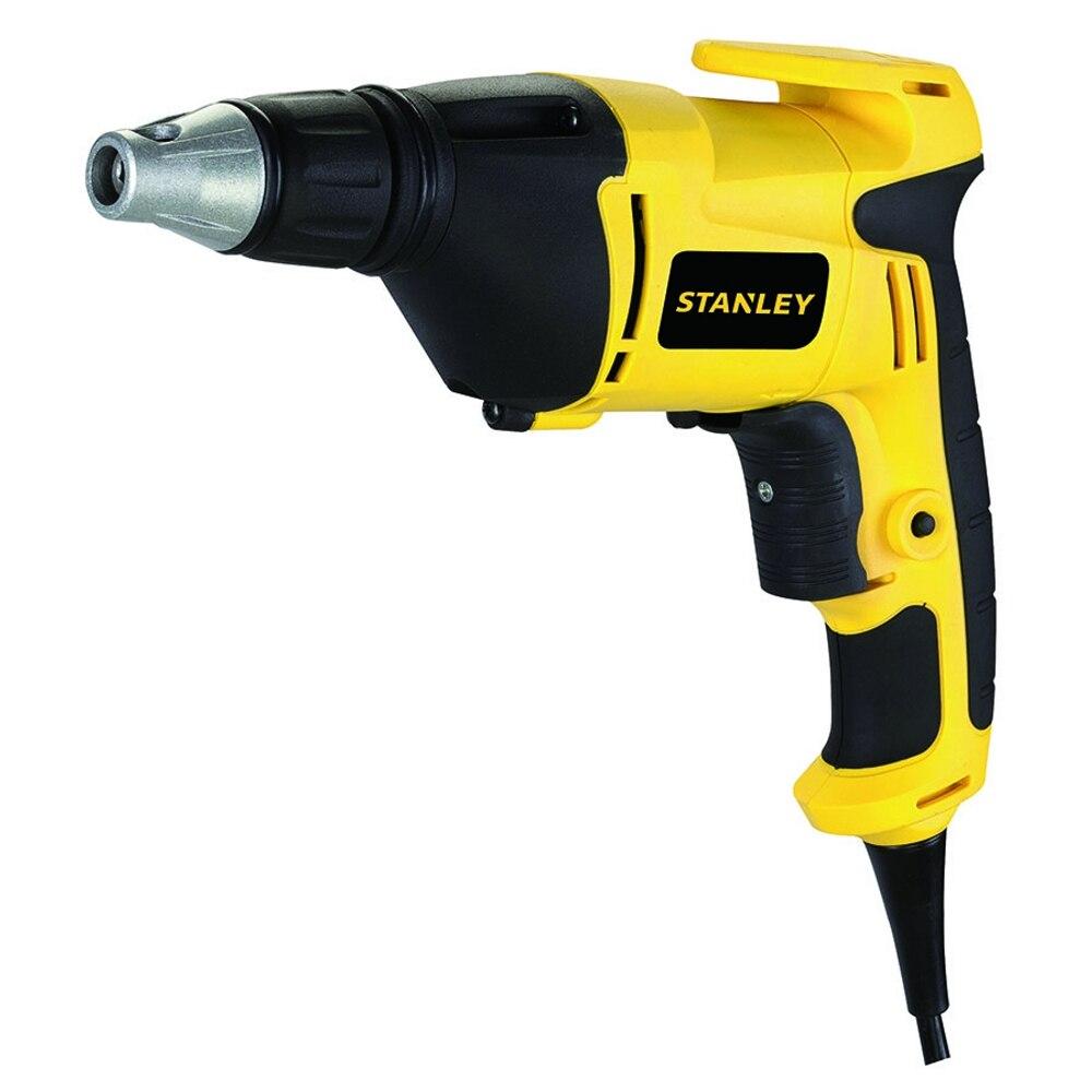 Electric drill screwdriver Stanley STDR5206 (520 W power, torque 8 Nm, reverse) electric drill screwdriver redverg rd sd330 330 w power torque 15нм 2 speed