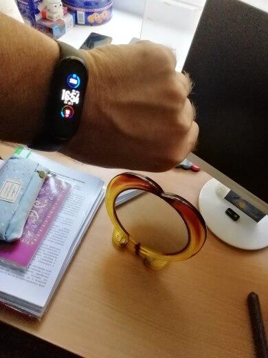 Mi Band 5 Smartwatch Xiaomi Versão Global 100% Original photo review