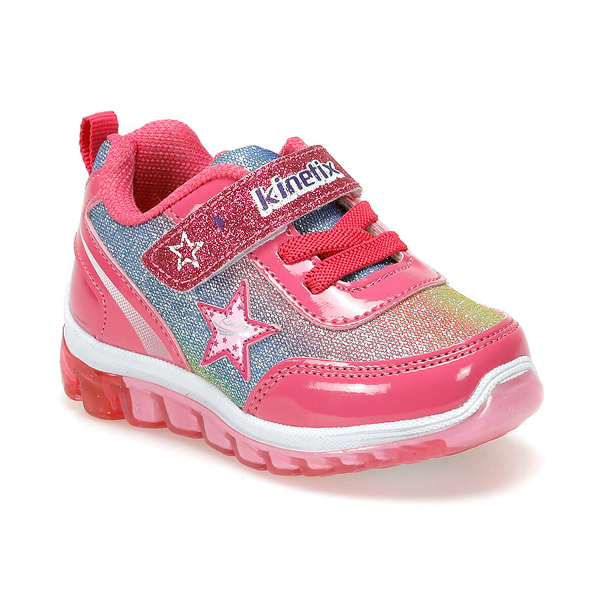 FLO SIMA 9PR Fuchsia Female Child Sneaker Shoes KINETIX