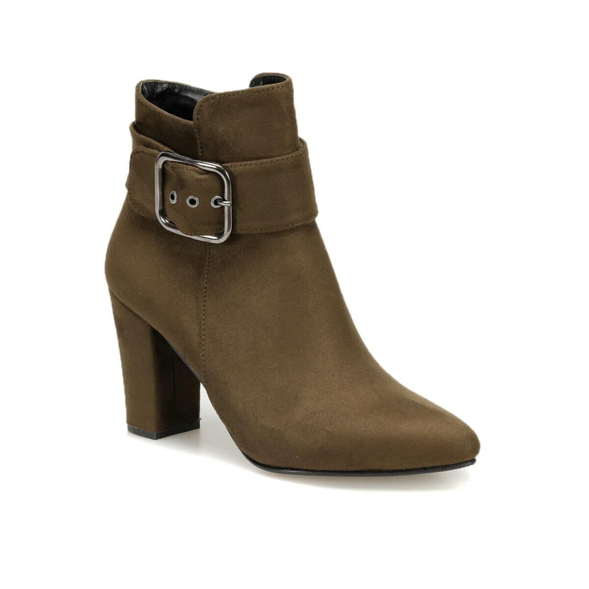 فلو بيتهوفن K56Z سويدي كاكي أحذية نسائية بوتيجو