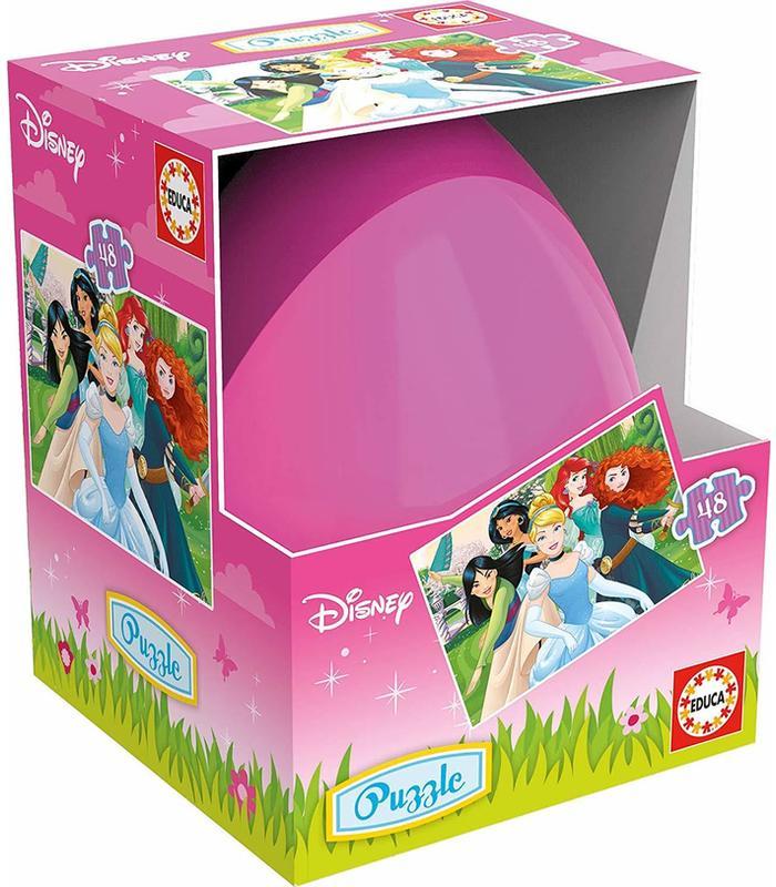 Puzzle Eggs Princesses 3D 48PCS Disney Toy Store