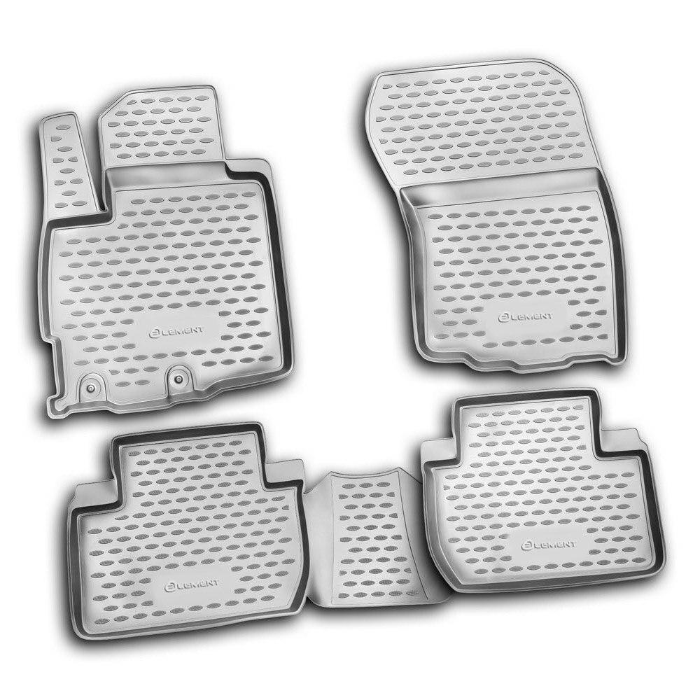 Floor Mats For MITSUBISHI Outlander XL 2010-> 4 PCs NLC.35.23.210