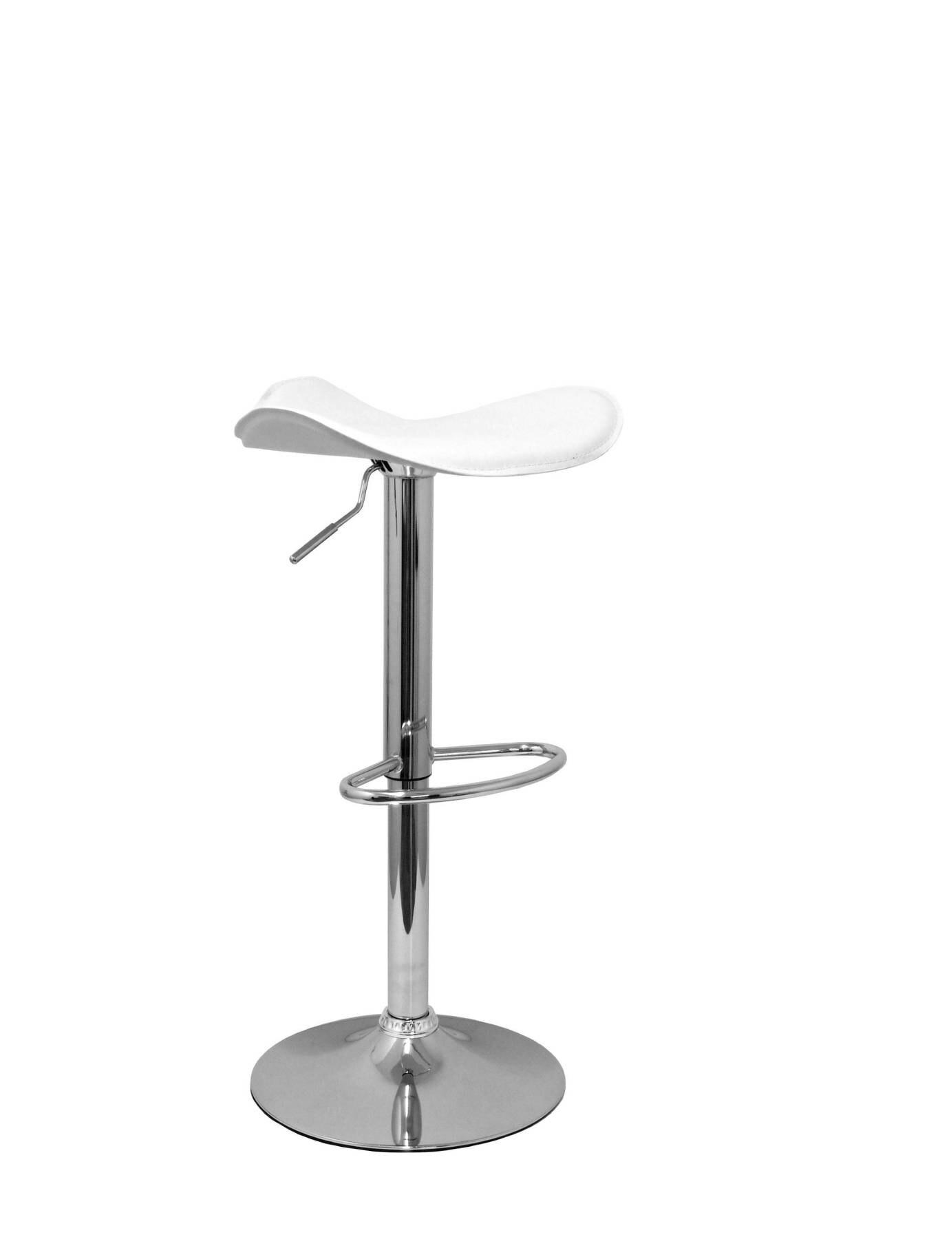 شريط البراز ، قطب وعكس الضوء في ارتفاع عال باستخدام أسطوانة غاز (تشمل أوتاد القدم هوب الكروم) مقعد de P