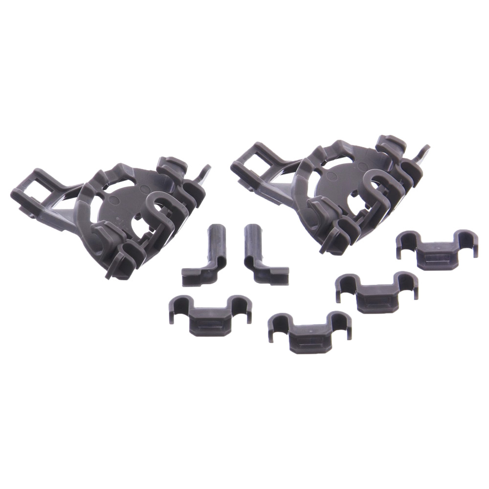 Image 2 - Dishwasher Cutlery Basket Support clips Replacement For Bosch, Neff & Siemens  00428344Dish Washer Parts   -