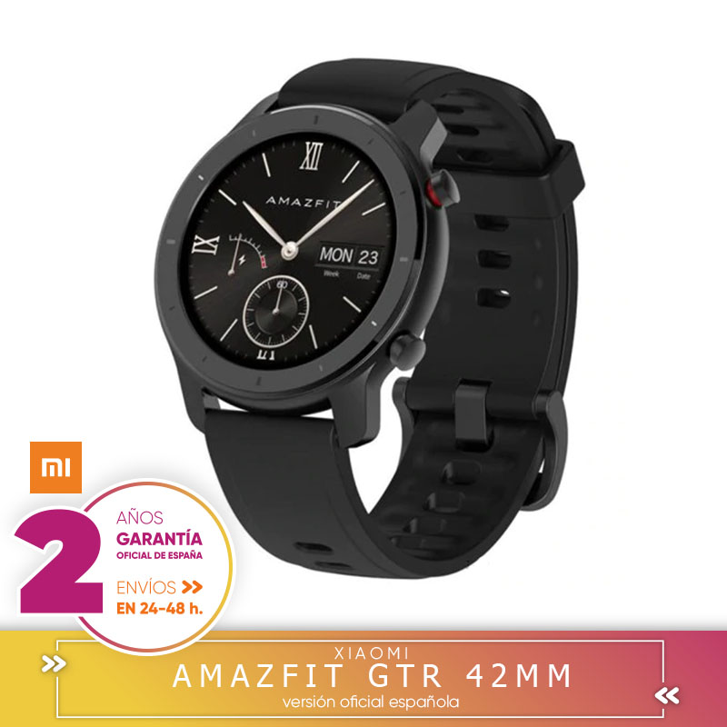 -Garantía Plaza- Amazfit GTR 42mm Version Global Reloj Inteligente Smartwatch GPS Control De Música Android Xiaomi Teléfono IOS