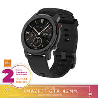 -Garantía Plaza-Amazfit GTR 42mm Version mondiale reloj inteligente Smartwatch GPS contrôle de música Android Xiaomi teléfono IOS