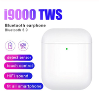 New i9000 TWS Wireless Earphone Air 2 With Reverse magnet Charging Case Bluetooth 5.0 Earbuds Earphone PK i500 i2000 i5000 TWS
