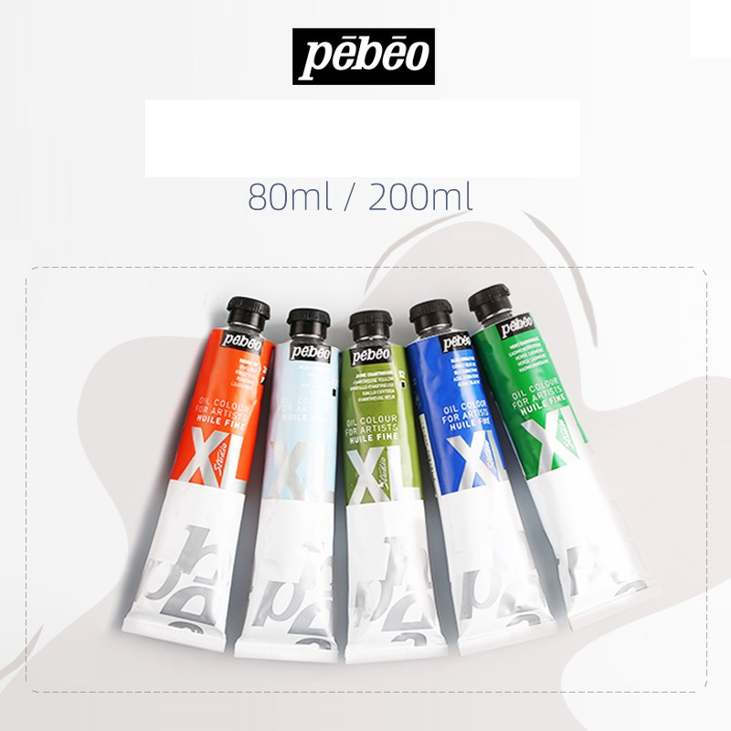 Pebeo XL oil painting special oil color ink material for art students tools, art supplies materials 80ml pintura acrílica