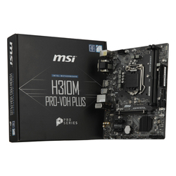 Gaming Motherboard MSI H310M PRO-VDH PLUS mATX LGA1151