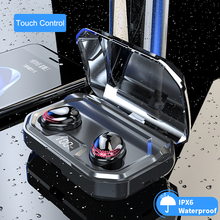 X10 TWS Bluetooth V5.0 HIFI Wireless Earphones Headphone 8D Stereo Sport Earbuds Headset With Charging Box Mic For iPhone huawei a7 tws mini bluetooth earbuds sport stereo waterproof rechargeable box earphones wireless earbuds with mic headset for iphone
