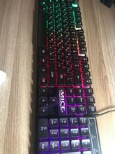 In general, the keyboard is not bad, it works, but it was sent normally without packing-th