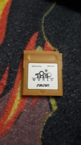 For Nintendo GBC Video Game Cartridge Console Card Trip World English Language Version photo review