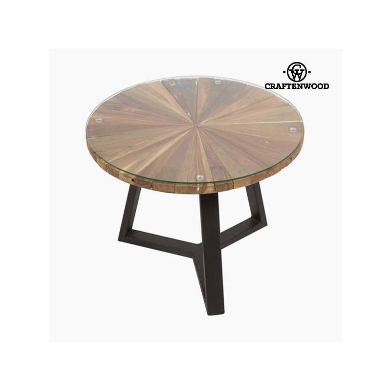 Round Coffee Table Wood-The Collection Autumn Craftenwood