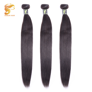 Image 3 - AOSUN бразильские волосы, плетеные пряди волос, пряди с застежкой, 100% человеческие волосы для наращивания, волосы Реми, естественный цвет
