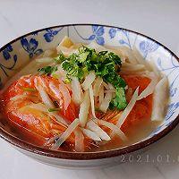 胡辣虾干萝卜汤的做法图解7