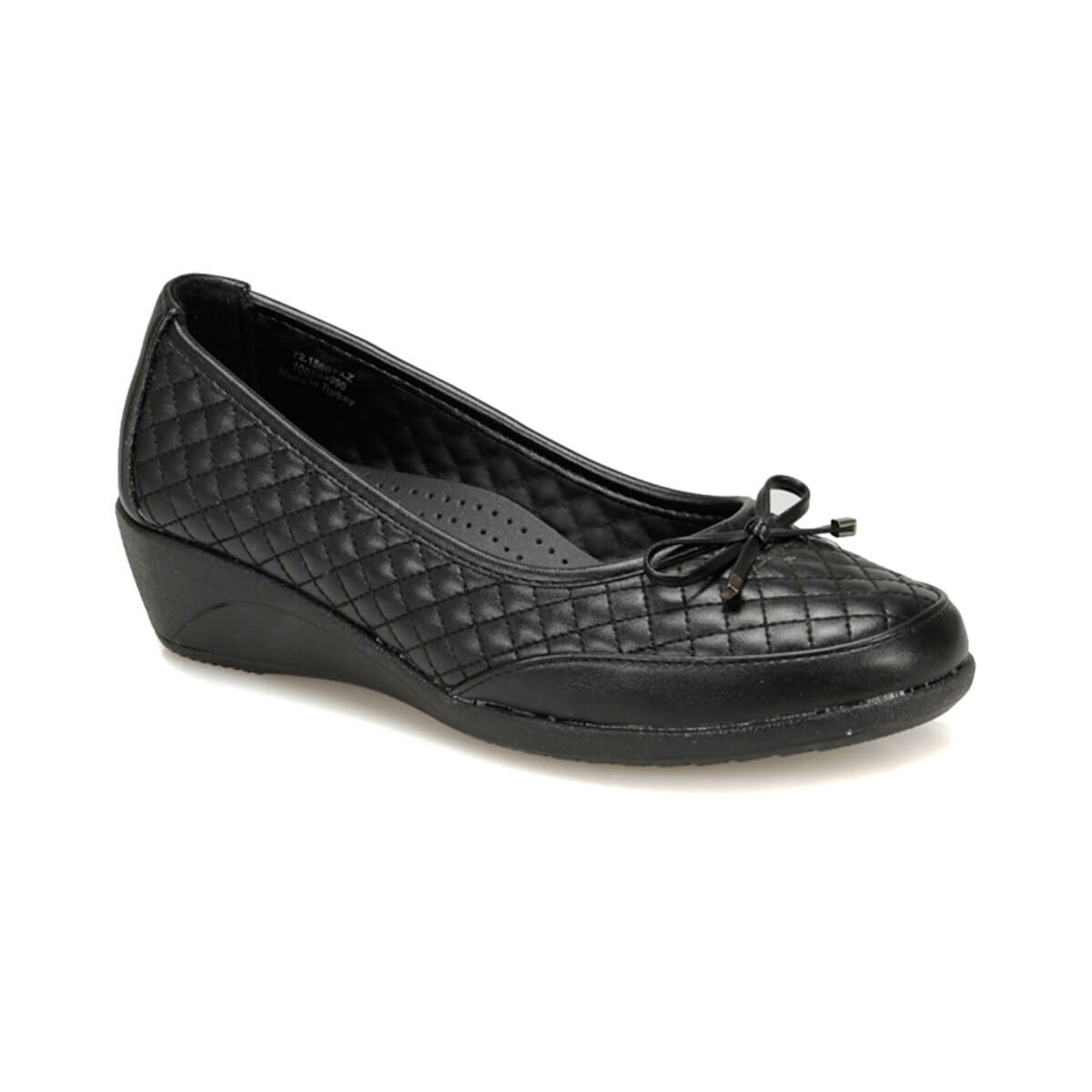 FLO 72.156074.Z Black Women Shoes Polaris