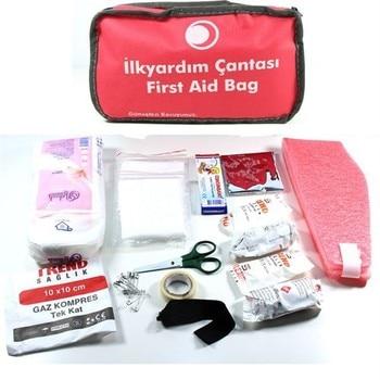Biartt First Aid Bag, Earthquake Bag, Emergency Bag (Compliant with Regulation) better regulation