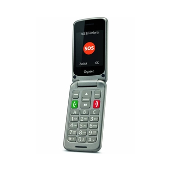 GIGASET GL590 Teléfono Senior Gris