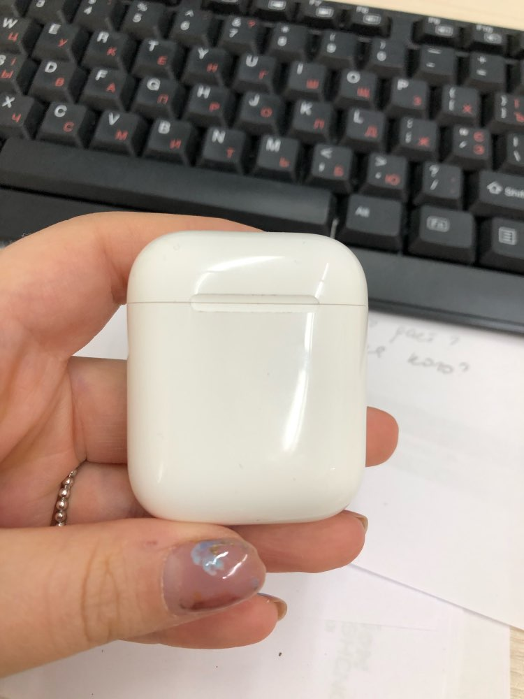 Apple AirPods 2 with Charging Case air pods|Phone Earphones & Headphones|   - AliExpress