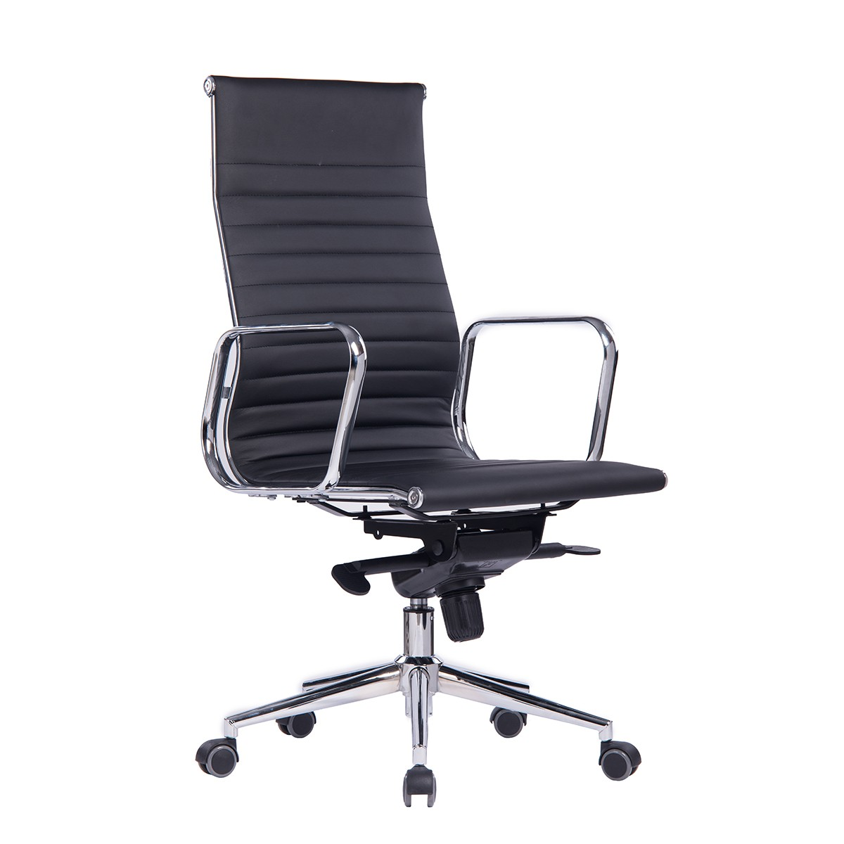 Office Armchair ARKANSAS, High, Similpiel Black