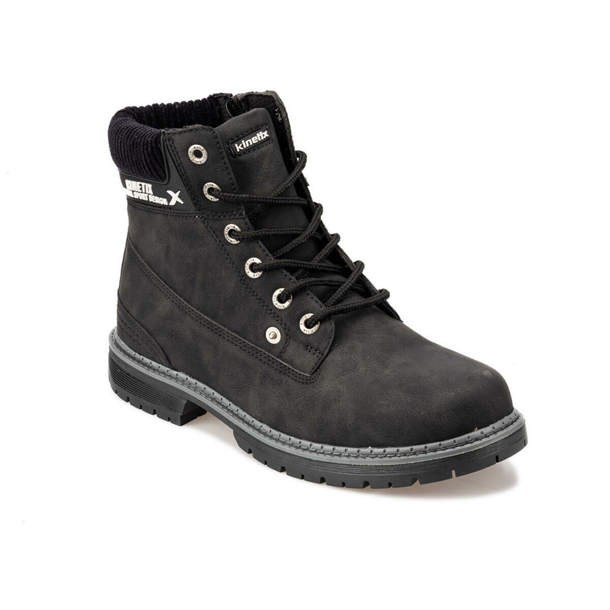 Botas FLO negras para hombre, botas de invierno con cremallera, botas de seguridad para hombre, botas para hombre KINETIX IRON 9PR Marca DEKABR, mocasines suaves de estilo veraniego a la moda para hombres, zapatos de piel auténtica de alta calidad, zapatos planos para hombres, zapatos de conducción Gommino