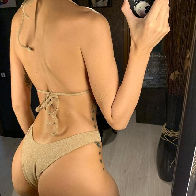 Ribbed Brazilian Bikini