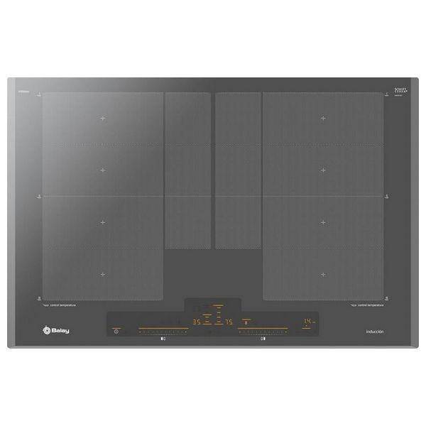 Induction Hot Plate Balay 3EB980AU 80 cm Anthracite Cooktops     - title=