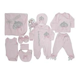Комплект одежды принцессы с вышитыми камнями из 10 предметов для маленьких девочек