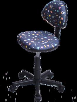 Компьютерное кресло, детское кресло Логика звездное небо ткань.Кресло для дома , для ребенка, удобное кресло, офисное кресло фото