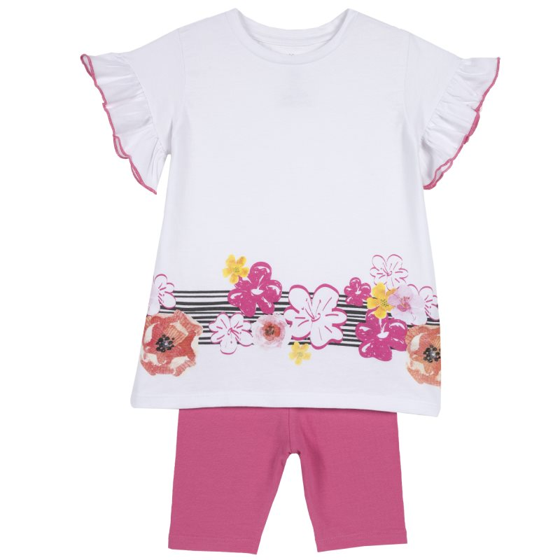 Set tunic and shorts Chicco, size 098, color multicolor