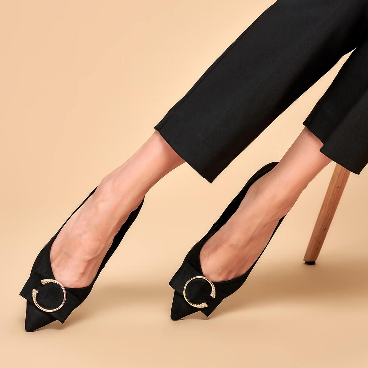 FLO 19K-191 Black Women Shoes BUTIGO
