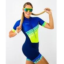 KAFITT summer 2019 pro team custom outdoor MTB Womens Cycling  Triathlon Body suit hort-sleeved shorts Anti-slip belt Pocket