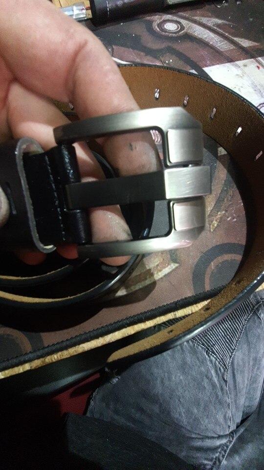 חגורה מעור לגבר דגם 298 photo review