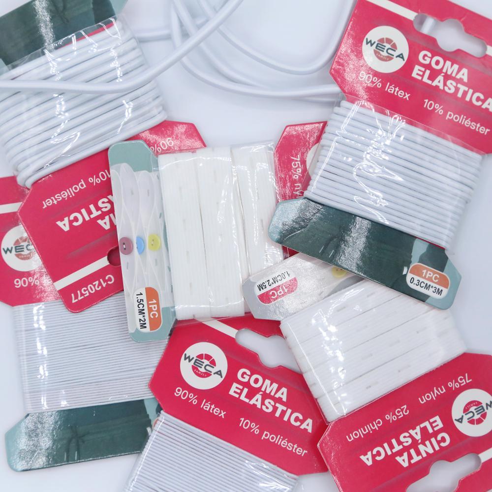 1ud Elastica Rubber Sewing 2/2.5/3/5/10m Band Elastica Thread Craft Fixture DIY Needlework
