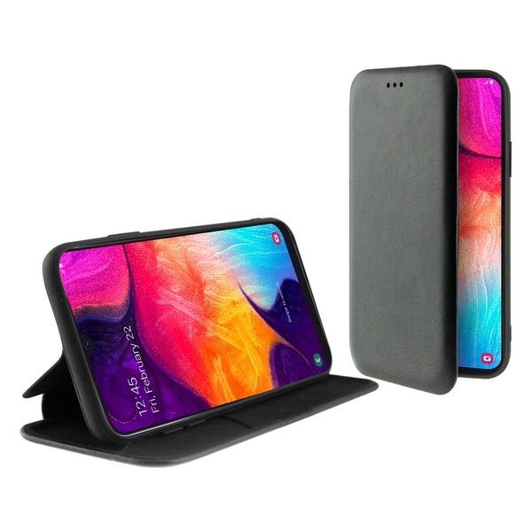 Folio Mobile Phone Case Galaxy A50 KSIX Black|  - title=
