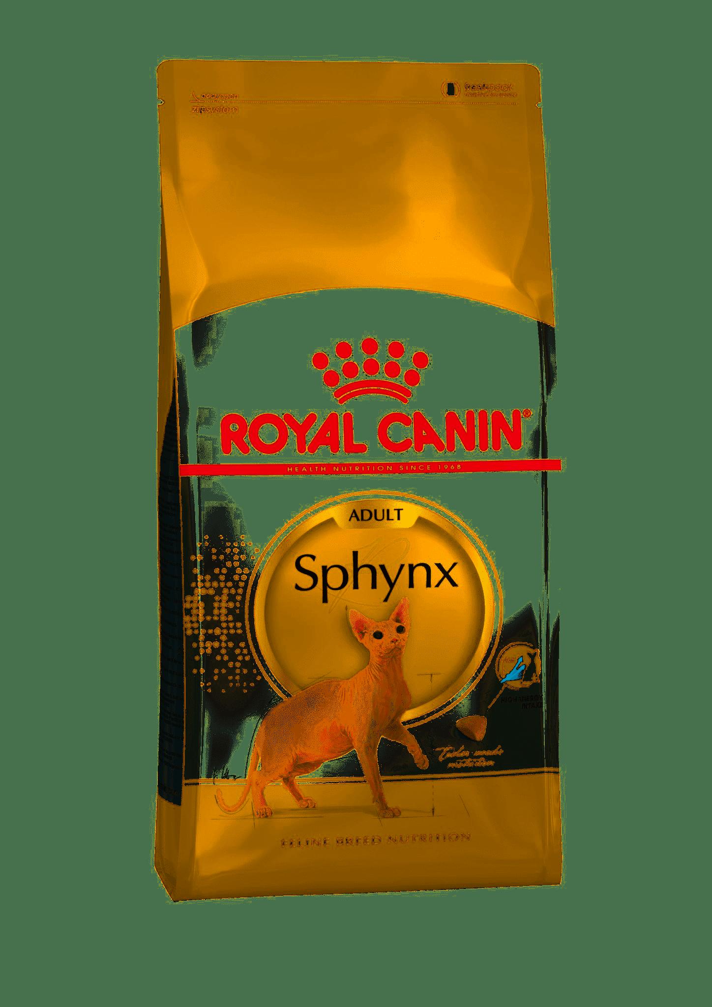 Royal Canin Sphynx Adult для взрослых кошек породы сфинкс, Cat Food, For Cats, 2 кг