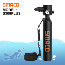Cylinder Scuba-Diving-Tank-Equipment Litre-Capacity SMACO Mini S300plus with 10-Minutes