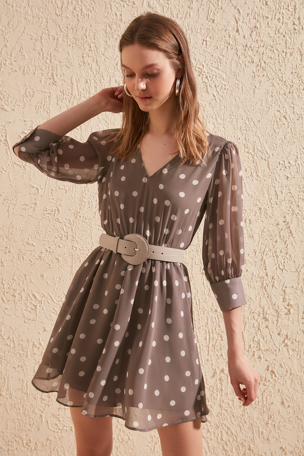 Trendyol Polka Dot Dress TWOSS20EL1323