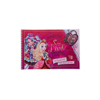 Album for drawing Ever After High on пружине 40 sheets