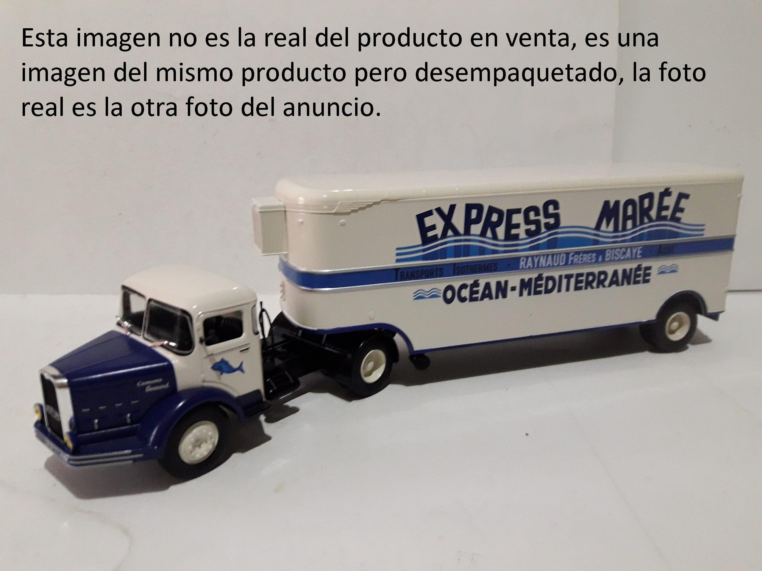 Bernard 150MB 150 MB - IXO ALTAYA 1/43 TRUCK - Fascículo 13 camión EXPRESS MARÉE