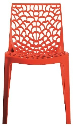 Chair WHIM Polypropylene Orange *