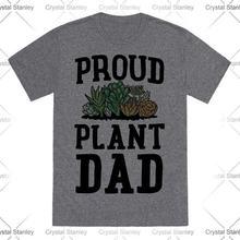 Летняя мужская одежда proud plant Мужская футболка с коротким
