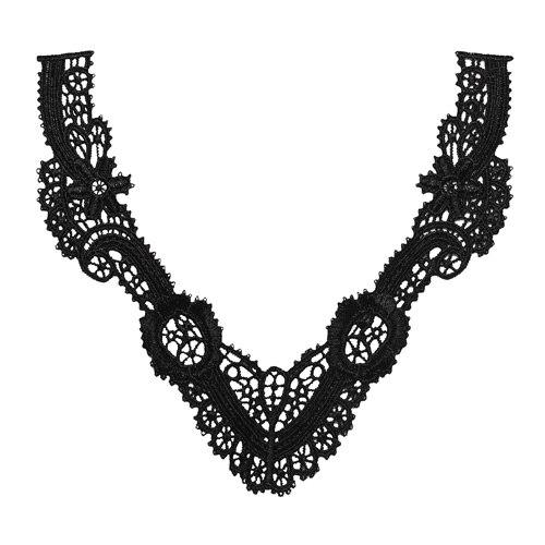 R1727 Collars Guipure (black)
